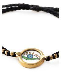Ileana Makri - Black Crying Eye Bracelet - Lyst