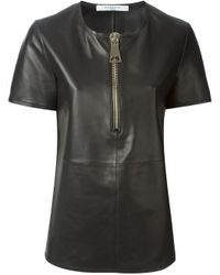 Givenchy | Black Chunky Zip Top | Lyst