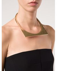 Miansai | Metallic Modern Flat Necklace | Lyst