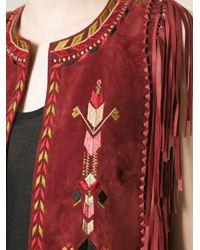 Isabel Marant - Embroidered Waistcoat - Lyst