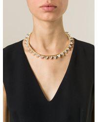 Ca&Lou - Metallic 'suki' Necklace - Lyst