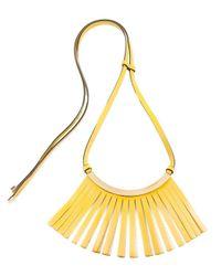 Marni | Metallic Fringed Necklace | Lyst