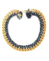 Aurelie Bidermann | Metallic 'do Brasil' Necklace | Lyst