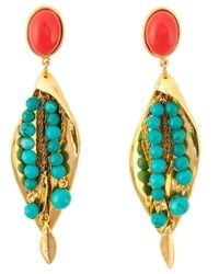 Aurelie Bidermann | Metallic 'monteroso' Earrings | Lyst