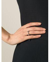 Aurelie Bidermann - Metallic 'palazzo' Ring - Lyst