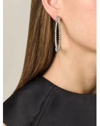Aurelie Bidermann - Metallic 'palazzo' Earrings - Lyst