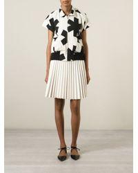 Vivienne Westwood Anglomania | Black Asterisk Print Jacket | Lyst