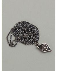 Werkstatt:münchen - Metallic Werkstatt:münchen Chain Eye Necklace - Lyst