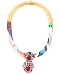 Shourouk | Multicolor 'zulu' Necklace | Lyst