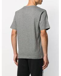メンズ Calvin Klein ロゴ Tシャツ Gray