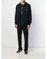 Giacca con stampa di Karl Lagerfeld in Blue da Uomo