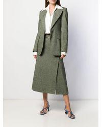 Victoria Beckham シングルジャケット Green