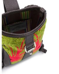 Etro Multicolor Velvet Panel Corssbody Bag