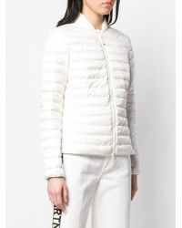 Peuterey White Slim-fit Padded Jacket