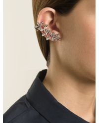 Ca&Lou - Metallic 'anne' Cuff Earring - Lyst