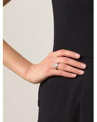 Vivienne Westwood Anglomania - Metallic 'mini Orb' Ring - Lyst