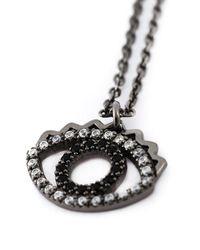 KENZO - Black 'eye' Bracelet - Lyst