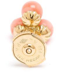 Yvonne Léon - Metallic Yvonne Léon 18kt Gold Coral 'trilogy' Earring - Lyst