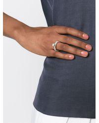 Rosa Maria - Metallic 'harir' Ring - Lyst