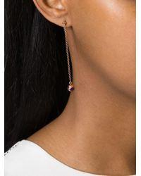 True Rocks - Blue Mini Globe Drop Earrings - Lyst