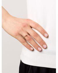 Rosa Maria | Metallic 'arwa' Ring | Lyst