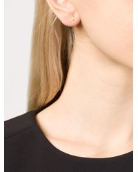 Marie-hélène De Taillac - Metallic 22kt Gold Star And Lightning Bolt Earrings - Lyst