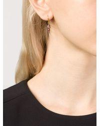 Marie-hélène De Taillac - Metallic Bluebell Earrings - Lyst