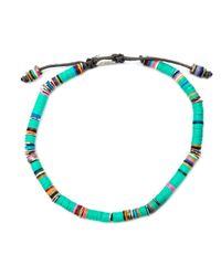 M. Cohen | Multicolor Beaded Bracelet for Men | Lyst