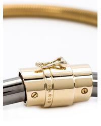 Lanvin | Metallic Snakechain Necklace | Lyst