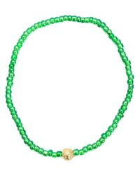 Luis Morais | Green Heart Chakra Beaded Bracelet | Lyst