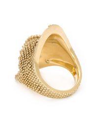 Venyx - Metallic 'chameleo' Ring - Lyst