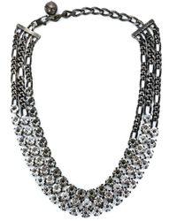Lanvin Black 'kristin' Necklace