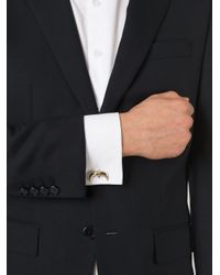 Givenchy | Metallic 'shark Tooth' Cufflinks for Men | Lyst