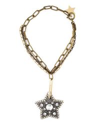 Lanvin | Metallic Star Pendant Necklace | Lyst