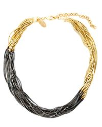 Iosselliani | Natural Graphic Fringe Necklace | Lyst