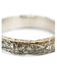 Pearls Before Swine - Metallic Forged Band Ring - Lyst