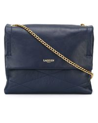 Lanvin - Blue 'sugar' Shoulder Bag - Lyst