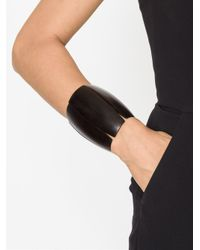 Monies - Black Sectional Cuff - Lyst