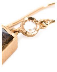Irene Neuwirth | Green 18kt Rose Gold Labradorite Drop Earrings | Lyst