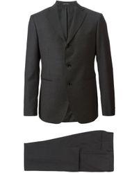 Tagliatore - Gray Formal Suit for Men - Lyst