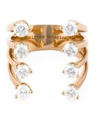Delfina Delettrez | Metallic Diamond 'dots' Ring | Lyst