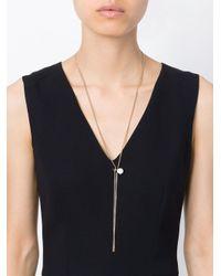 Maison Margiela - Metallic Earring Pendant Necklace - Lyst