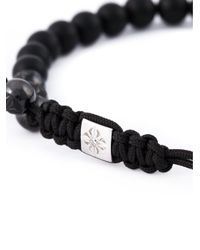 Shamballa Jewels - Black Beaded Bracelet - Lyst