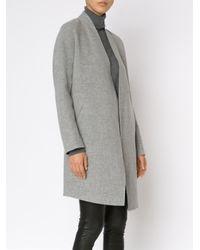 Rag & Bone - Gray Open Front Coat - Lyst