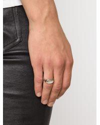 Werkstatt:münchen | Gray Werkstatt:münchen Signet Ring | Lyst
