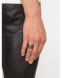Werkstatt:münchen - Metallic Werkstatt:münchen Stacked Ring - Lyst