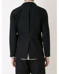 Abasi Rosborough - Black - 'arc' Blazer - Men - Cotton/rayon/wool - L for Men - Lyst