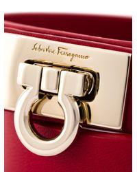Ferragamo - Red Gancio Wrap Around Bracelet - Lyst