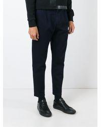 Etudes Studio Black Études Straight Leg Trousers for men