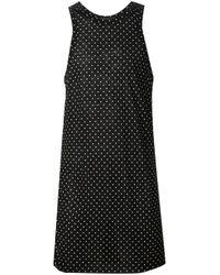 Haider Ackermann - Black Oversized Spotty Vest for Men - Lyst